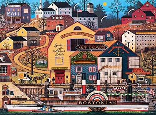 Buffalo Games The Bostonian by Charles Wysocki Jigsaw Puzzle 1000 Piece