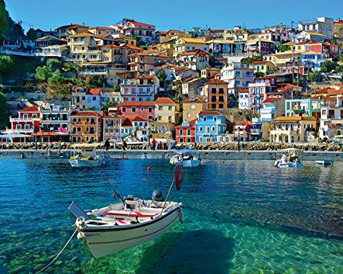White Mountain Puzzles White Mountain Greece Parga Jigsaw Puzzle 1000 Piece
