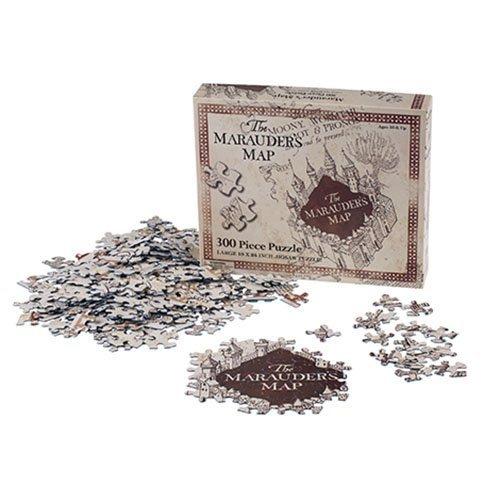 Universal Studios Wizarding World of Harry Potter Park Marauders Map Jigsaw Puzzle Lg 300 Pc by Universal Studios