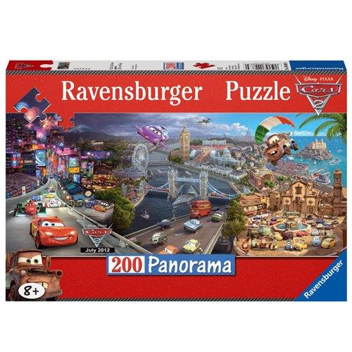 200pc Disney Cars Jigsaw Puzzle