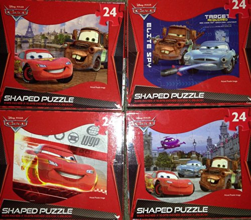 Cars Jigsaw Puzzle - Shaped - 24 pc Cars may vary