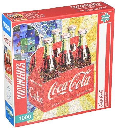 Buffalo Games Coca-Cola Photomosaic - Coca-Cola Of Course - 1000 Piece Jigsaw Puzzle by Buffalo Games Puzzle