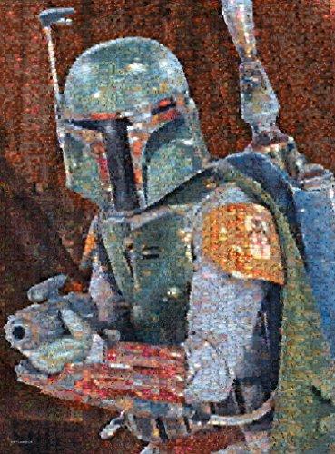 Buffalo Games Star Wars Photomosaic Boba Fett - 1000 Piece Jigsaw Puzzle by Buffalo Games