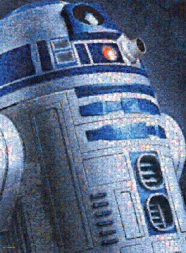 Buffalo Games Star Wars Photomosaic R2-D2 - 1000 Piece Jigsaw Puzzle by Buffalo Games