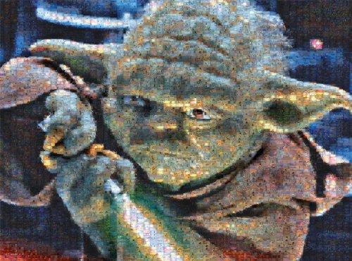 Buffalo Games Star Wars Photomosaic Yoda - 1000 Piece Jigsaw Puzzle by Buffalo Games