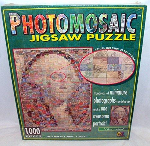 Photomosaics Jigsaw Puzzle - Washington