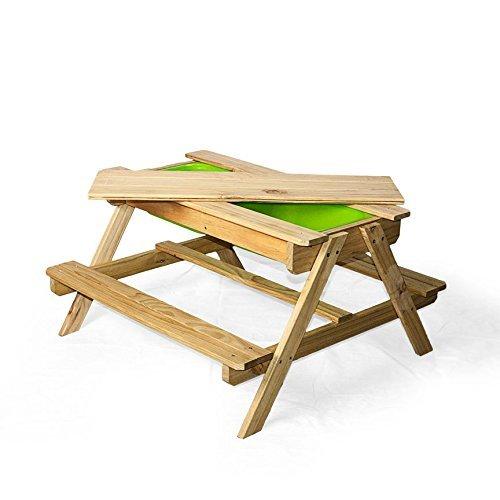 WONKAWOO Enless Fun Sand Water Table Toy Natural 355 x 35x 205