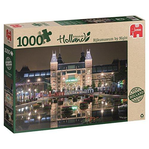 Jumbo Rijksmuseum by Night Jigsaw Puzzle 1000-Piece by Jumbo