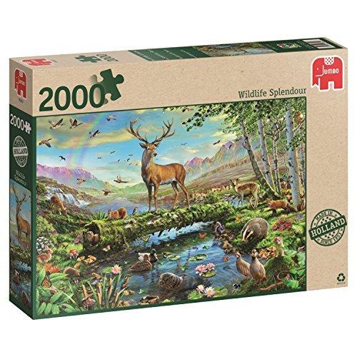 Jumbo Wildlife Splendour Jigsaw Puzzle 2000-Piece by Jumbo