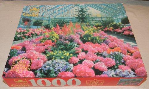 Guild 1000pc Conservatory Flowers Puzzle