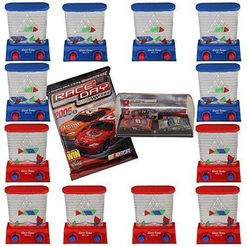 12 Pieces Kids Party Favor 35 Handheld Triangle Water Game-Dozen-BonusRace Day Car