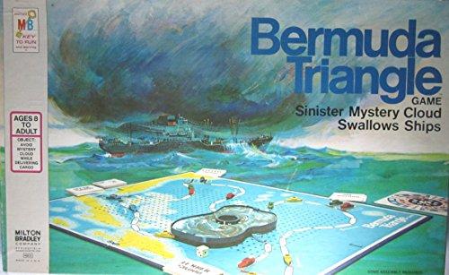 VINTAGE 1975 Milton Bradley BERMUDA TRIANGLE GAME