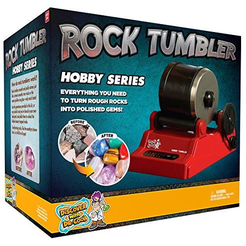 Hobby Rock Tumbler - Easily Transform Rocks into Gemstones