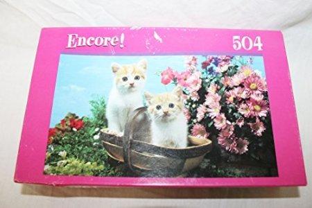 Encore 504 piece jigsaw Twin Kittens puzzle
