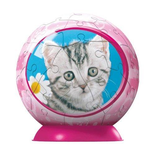 Ravensburger 60 Piece Baby Animals Kitten Puzzleball