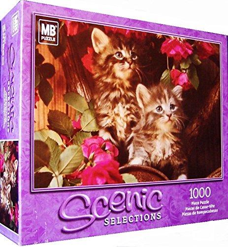 Scenic Selections Kittens 1000 Piece Jigsaw Puzzle Milten Bradley