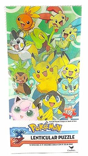 Nintendo Pokemon Lenticular Puzzle - 100 pc - 12 x 9
