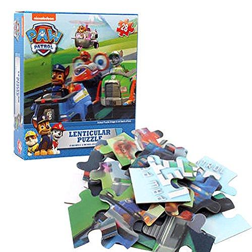 Paw Patrol Lenticular Puzzle 28 Pieces