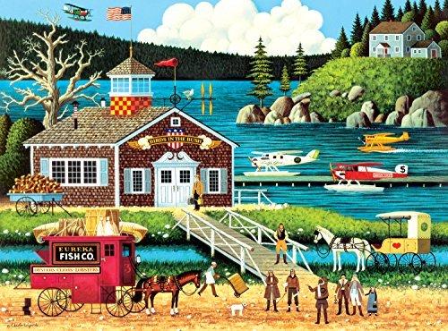 Buffalo Games Charles Wysocki Birds of a Feather Jigsaw Puzzle 1000-Piece