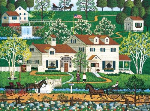 Buffalo Games Charles Wysocki Gingernut Valley - 1000pc Jigsaw Puzzle
