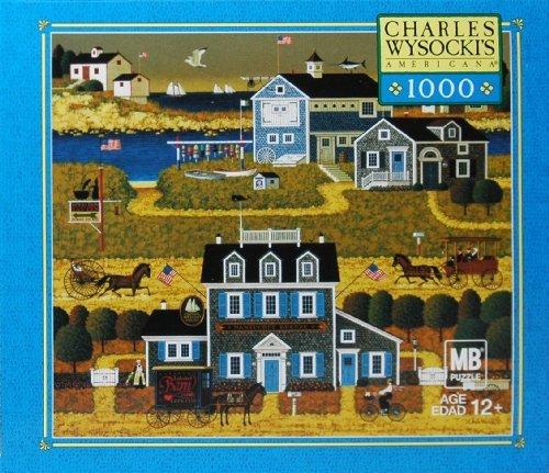 CHARLES WYSOCKI PUZZLE The Nantucket 1000 PIECE MIB SEALED 4679-G35