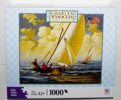CHARLES WYSOCKIs AMERICANA PUZZLE Breezin Along 1000 Piece