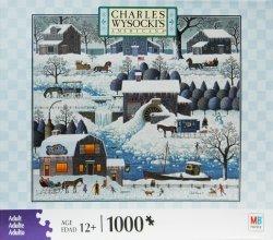 Charles Wysocki 1000 Pc Jigsaw Puzzle - PLUMBELLYS PLAYGROUND
