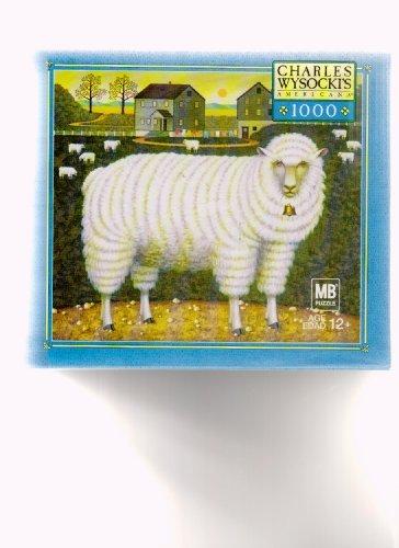 Charles Wysocki Puzzle Shepherds Pal by Milton Bradley