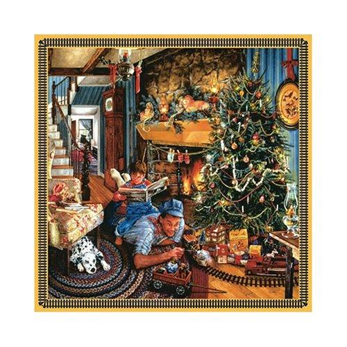 Sunsout Fathers Christmas Train 500 Piece Jigsaw Puzzle