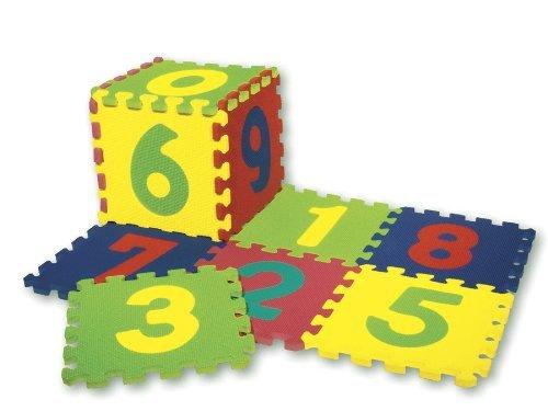 WonderFoamNumbers Puzzle Mat Model 4382