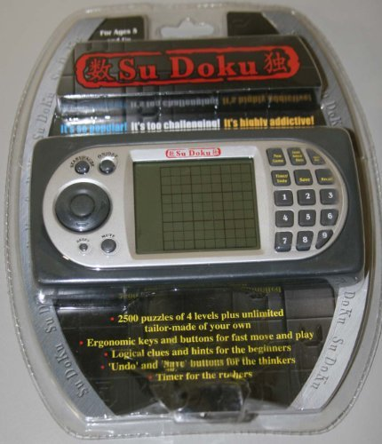 Electronic Handheld SuDoku Game with 2500 Puzzles