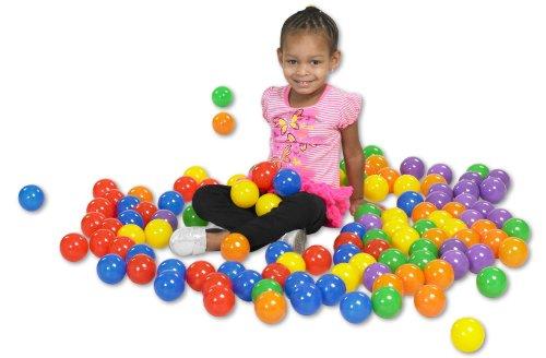ECR4Kids SoftZone Play Pit Polyethylene Balls 120-Pack Assorted Colors