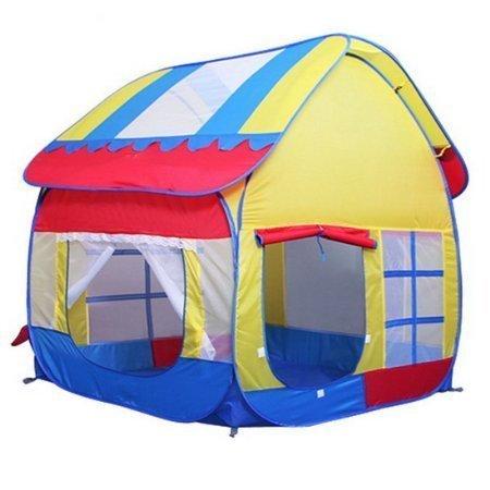 Truedays Kids Play Hut Outdoor Indoor Fun Play Big Tent Playhouse Pop Hut Play Pit Balls Pool