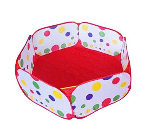 Kids Tent Style Folding Fun Colorful Safe Ocean BallBeachCassia Seed Pool1M