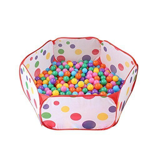 Justmysport Ball Play Pool Ball Play Tent 3937Inch Playpen Ball Pit Pool Indoor and Outdoor with Play House Children for Kids Gifts