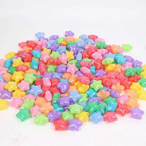 Ocean Ball Toys 100pcs Ball Pit Diameter 23 Star Heart Shape Colorful Soft Plastic Ocean Balls Baby Kid Toys Swim Pit Toys Ball Star