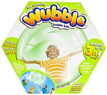 The Amazing WUBBLE Bubble Ball - Looks like a bubble plays like a ball Green