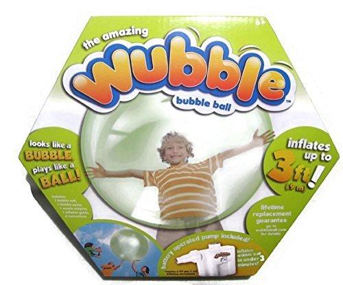 The Amazing WUBBLE Bubble Ball - Looks like a bubble plays like a ball Green by WUBBLE