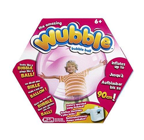 The Amazing WUBBLE Bubble Ball - Looks like a bubble plays like a ball Pink by WUBBLE