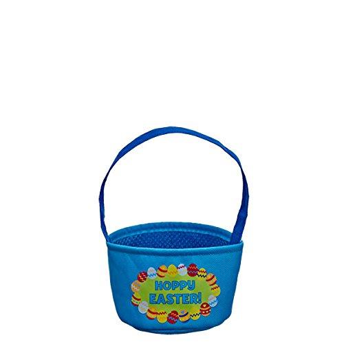 Build-a-Bear Workshop Mini Blue Hoppy Easter Basket Teddy Bear Accessory