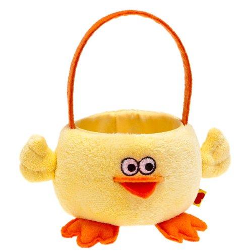 Build-a-Bear Workshop Mini Chick Easter Basket - Teddy Bear Accessory