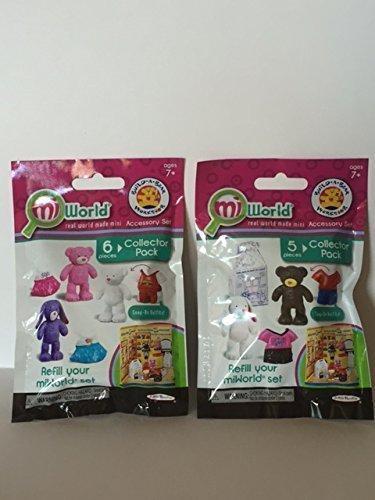 MiWorld Build-A-Bear Workshop Accessory Sets ~ Bundle of 2