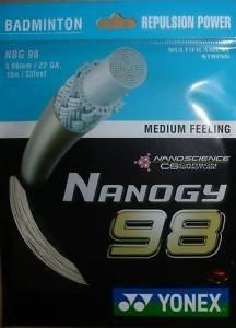 Yonex Nanogy BG 98 Badminton String - Cosmic Gold