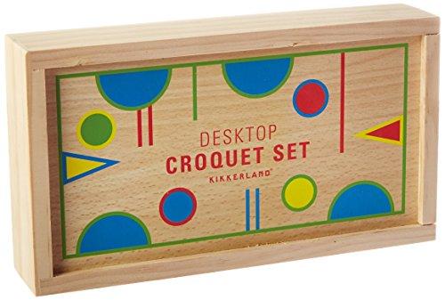 Kikkerland Desktop Croquet Game