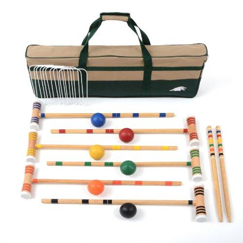 Lion Sports Premier 6 Player Croquet Set 28-Inch