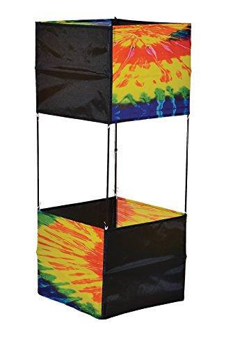 In the Breeze Tie Dye Box Kite 37-Inch