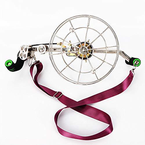 BOYU-SHITAI 11 Pro Stainless Steel Kite Line Winder Reel Brakes Control Kite Brake Control with Shoulder Strap