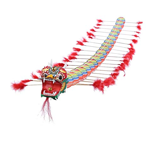 chinatera Dragon Kite for Kids Easy Flyer Cartoon Kites for Outdoor Games and Summer The Beach Toys for Kids