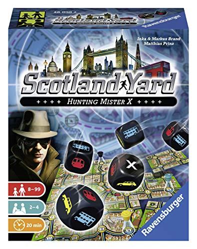 Ravensburger 26010 Card Games Ravensburger 26010 Scotland Yard Die Dice Game