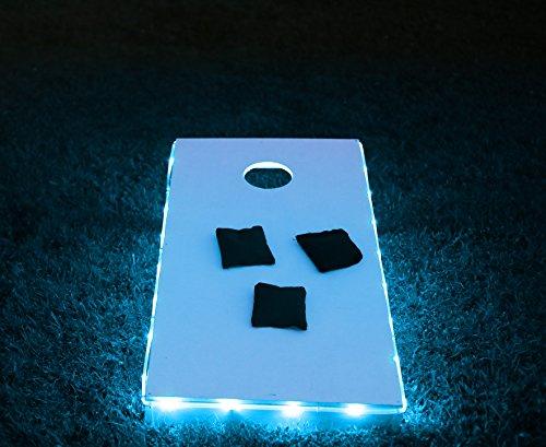 Brightz Ltd Blue Toss Brightz LED Lights Cornhole Board Accessory